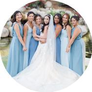 Shop Blue Bridesmaid Dresses Canada