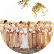 Shop Gold Bridesmaid Dresses Canada