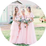 Shop Pink Bridesmaid Dresses Canada