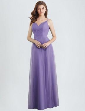 Shop A-Line Long Janel Bridesmaid Dress Canada