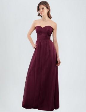 Shop A-Line Long Jasmine Bridesmaid Dress Canada
