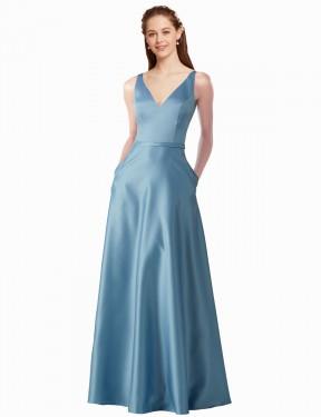 Shop A-Line Long Mignon Bridesmaid Dress Canada