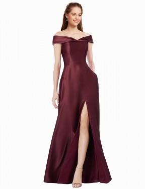 Shop A-Line Long Ula Bridesmaid Dress Canada
