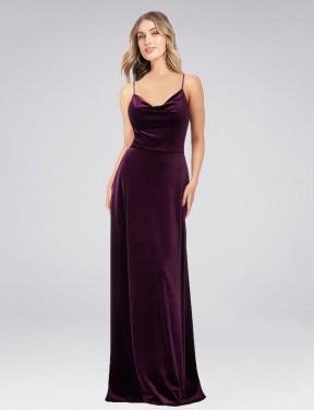 Shop A-Line Long Yvette Bridesmaid Dress Canada