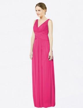Shop Azalea A-Line Long Emmie Bridesmaid Dress Canada