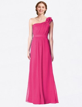 Shop Azalea A-Line Long Gracelyn Bridesmaid Dress Canada