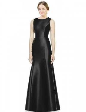 Shop Black Mermaid Long Maryam Bridesmaid Dress Canada