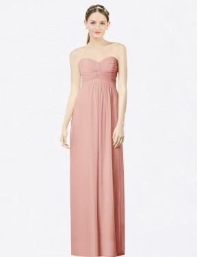 Shop Bliss A-Line Long Kiara Bridesmaid Dress Canada