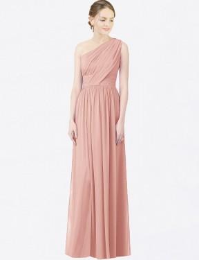Shop Bliss A-Line Long Lana Bridesmaid Dress Canada