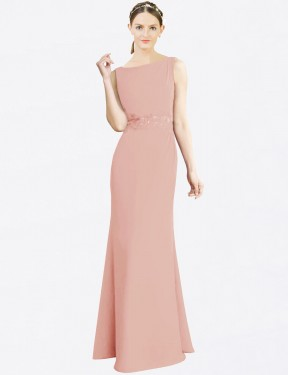 Shop Bliss Mermaid Fit and Flare Long Latika Bridesmaid Dress Canada