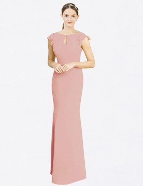 Shop Bliss Mermaid Fit and Flare Long Paisleigh Bridesmaid Dress Canada