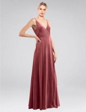 Shop Cinnamon Rose A-Line Long Macholl Bridesmaid Dress Canada