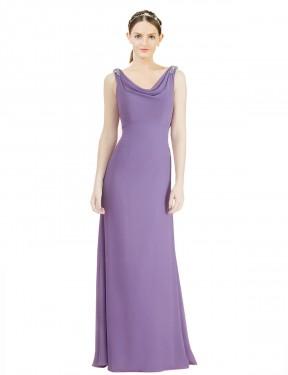 Shop Dahlia A-Line Long Azariah Bridesmaid Dress Canada
