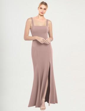 Shop Dusty Pink Mermaid Long Fernella Bridesmaid Dress Canada