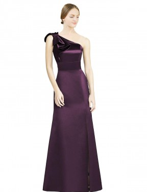 Shop Grape Mermaid Long Kaitlyn Bridesmaid Dress Canada
