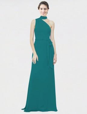 Shop Hunter A-Line Long Crystal Bridesmaid Dress Canada