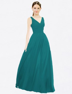 Shop Hunter A-Line Long Nola Bridesmaid Dress Canada