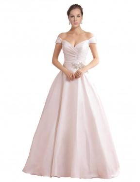 Shop Ivory A-Line Long Thea Wedding Dress Canada