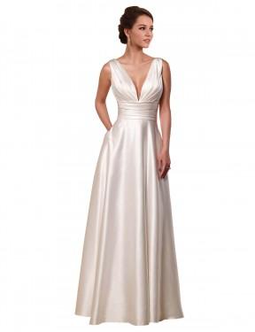 Shop Ivory A-Line Short Vivienne Wedding Dress Canada