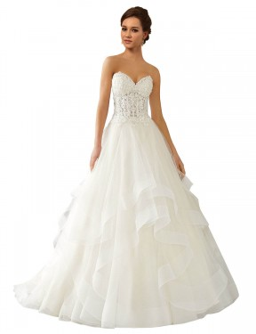 Shop Ivory Ball Gown Long Reese Wedding Dress Canada