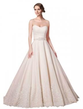 Shop Ivory Ball Gown Short Adelynn Wedding Dress Canada