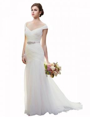 Shop Ivory Mermaid Long Blakely Wedding Dress Canada