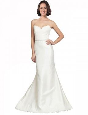 Shop Ivory Mermaid Long Elsie Wedding Dress Canada