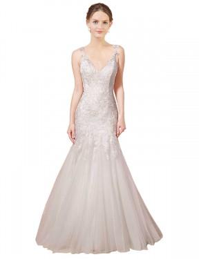 Shop Ivory Mermaid Long Gracie Wedding Dress Canada