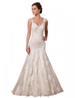 Shop Ivory Mermaid Long Josie Wedding Dress Canada