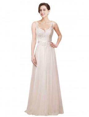 Shop Ivory Sheath Long Londyn Wedding Dress Canada