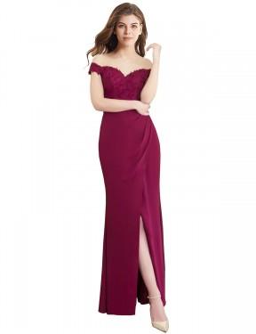 Shop Mermaid Long Cesar Bridesmaid Dress Canada