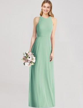 Shop Mint Green Trumpet Long Belinda Bridesmaid Dress Canada