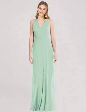 Shop Mint Green Trumpet Long Marcos Bridesmaid Dress Canada