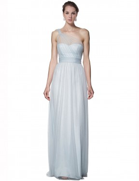 Shop Mist A-Line Long Legacy Bridesmaid Dress Canada