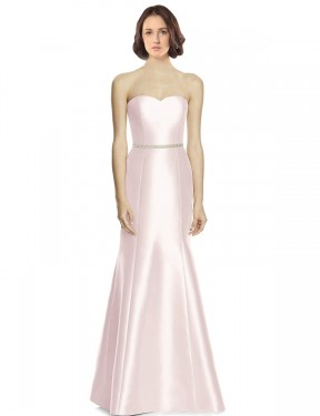 Shop Pink Trumpet Long Arianna Bridesmaid Dress Canada