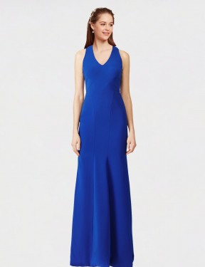 Shop Royal Blue Mermaid Long Sam Bridesmaid Dress Canada