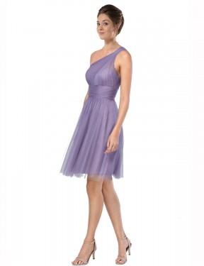 Shop Watermelon A-Line Short Alessia Bridesmaid Dress Canada