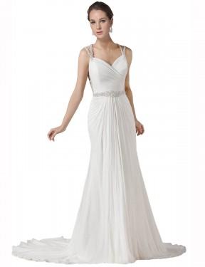 Shop White Mermaid Long Lilah Wedding Dress Canada